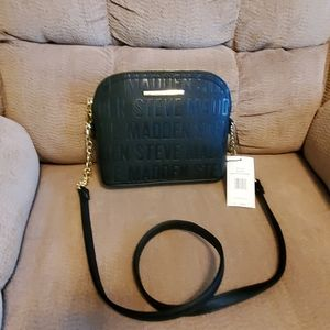 Steve madden small black purse.